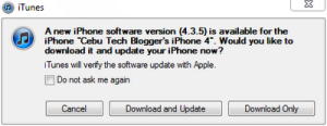 iOS 4.3.5, iOS 4.2.10 Released [Apple Direct Download Links]