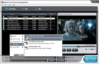 Download iSkysoft FLV Converter for Windows with Free License Key