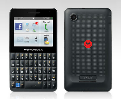MOTOKEY SOCIAL is Motorola's Answer to HTC's Facebook Phones