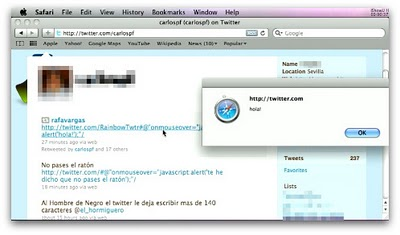 Twitter Virus Update: XSS Security Flaw Patched