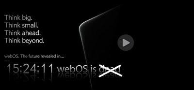 HP TouchPad Tablet is Dead, but not webOS!