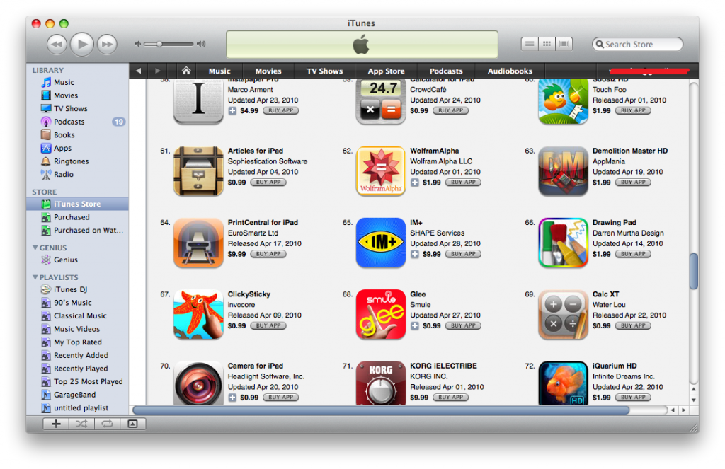 top 100 apps for ipad
