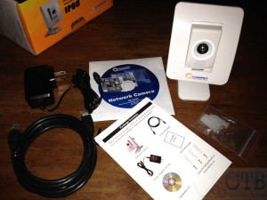 Unboxing: Compro IP60 Network Camera