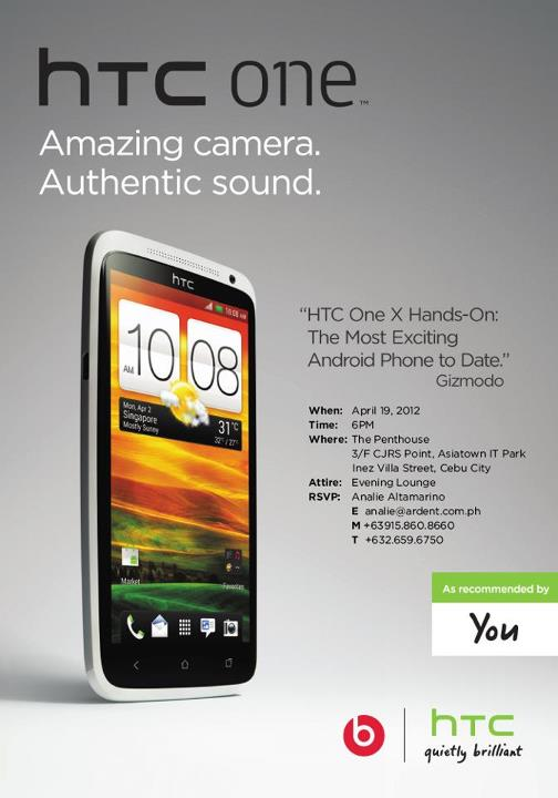 HTC Philippines to Launch HTC One Smartphones in Cebu Today!