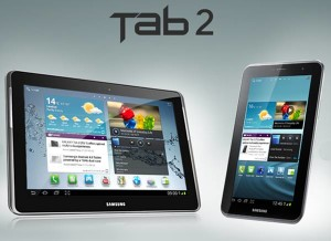 Samsung GALAXY Tab 2 (7.0) and GALAXY Tab 2 (10.1) Priced!