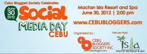 Cebu Social Media Enthusiasts All Set for Social Media Day