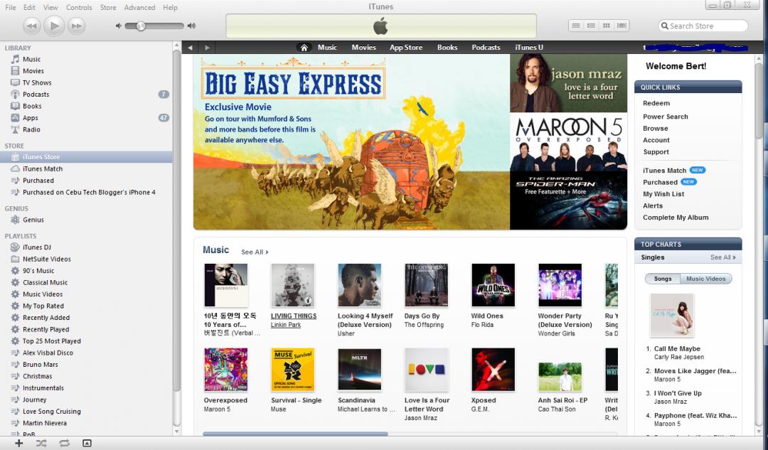 Philippines iTunes Store Is Now Open: What Does It Mean to a Newbie Pinoy iUser?