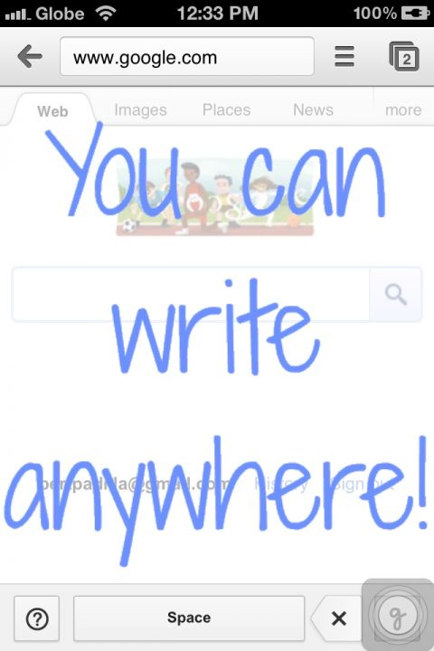 Google Handwrite for iPhone
