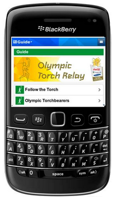 Celebrate London 2012 Olympics with these BlackBerry Apps