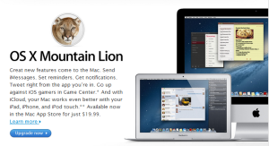 Apple Releases Mac OS X Mountain Lion, Available for Purchase at Mac Apps Store