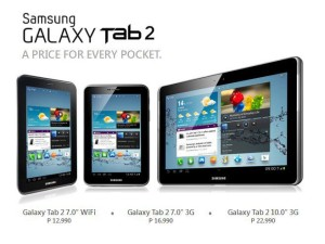 Samsung GALAXY Tab 2 Philippines Prices Get Official