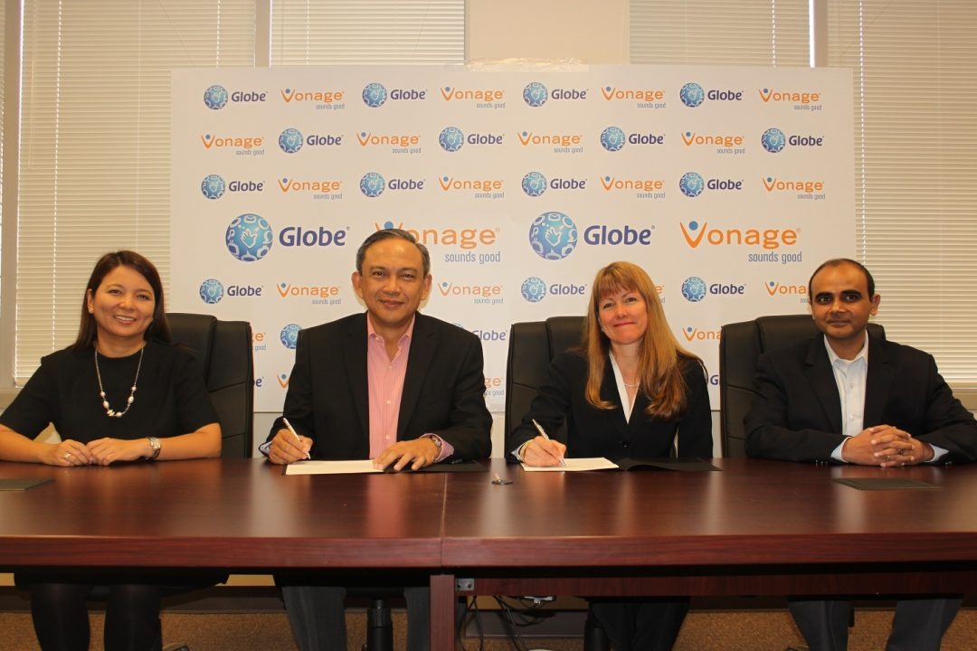 Vonage Globe Telecom Partnership