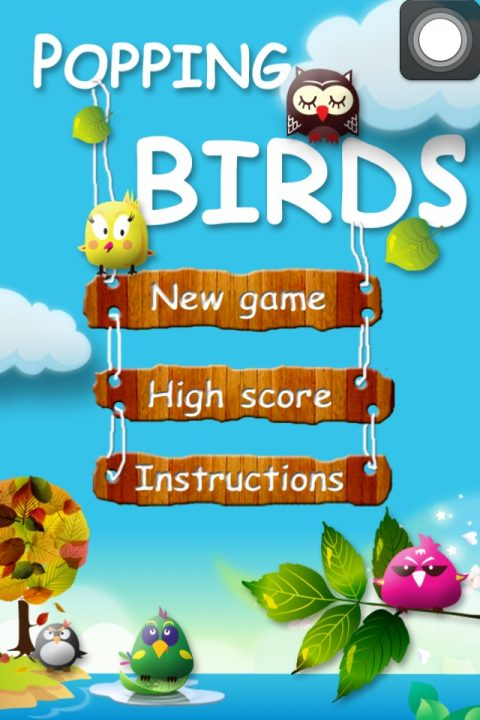 iPhone, iPod Touch, & iPad App Giveaway – Popping Birds!