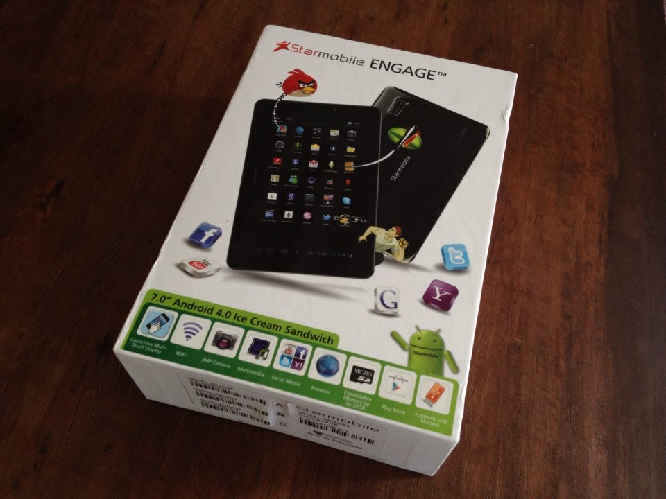 Starmobile Engage Android Tablet