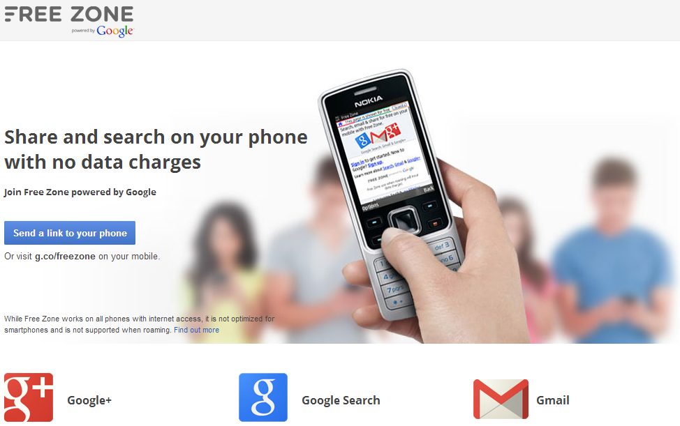 Google and Globe Teamed Up to Offer Free Zone; Allows You to Access Gmail, Google+, and Search for Free!