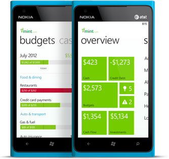 Finance Apps for Windows Phone 7, 7.5, and WP 8