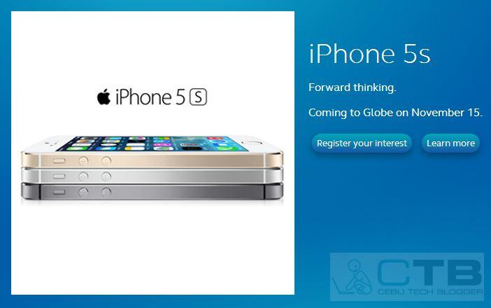 Official: Globe, Smart iPhone 5C and 5S Launching in Philippines November 15, 2013