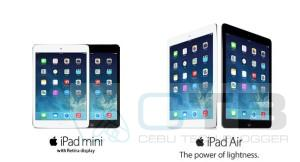 iPad Air and iPad Mini with Retina Display Now Here in Philippines