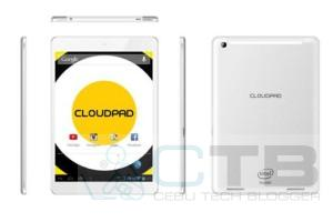 CloudFone Announces CloudPad 800w, the First Local Intel-powered Tablet for Php 8,999