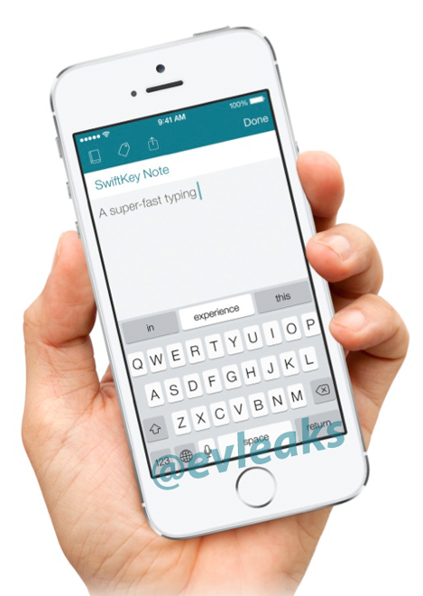 SwiftKey on iOS