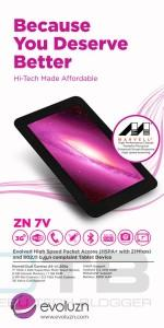 Evoluzn ZN 7V and ZN 8P Tablets Out! Budget Friendly Tablets with Promising Specs