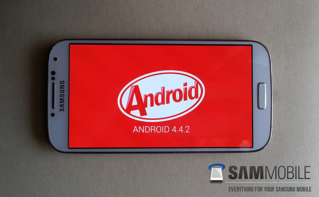 Android 4.4 KitKat Test Firmware for the Samsung Galaxy S4 leaked!