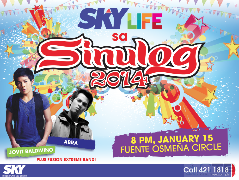 #SinulogLiveOnSKY: Sky Cable Covers Sinulog in HD, First Time a Local Festival will be Broadcasted LIVE in HD Quality!