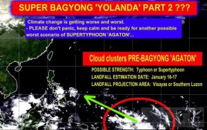 Super Typhoon Agaton 2014 Hoax Goes Viral [Updated]