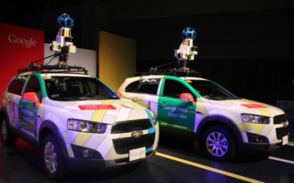 Google Street View Cars in Manila