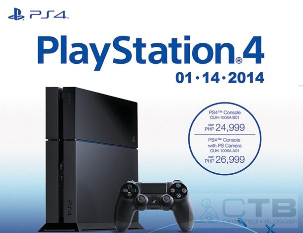 Sony PS4 Launched Officially in the Philippines!
