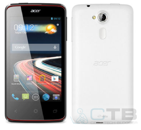 Acer outs Liquid E3 and Liquid Z4, mid-range and entry-level smartphones to debut during the MWC 2014