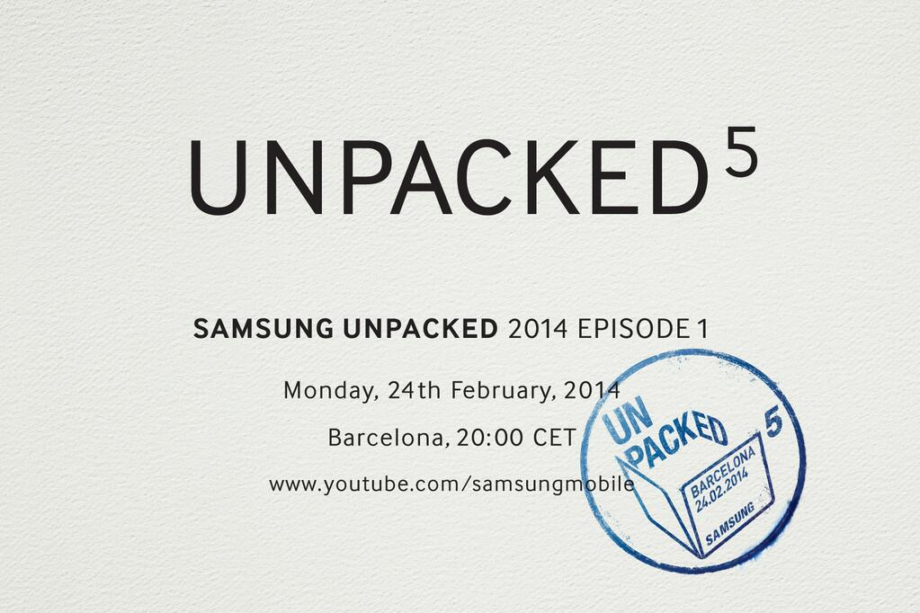 Samsung Launching Galaxy S5 on February 24, Fingers-Crossed!