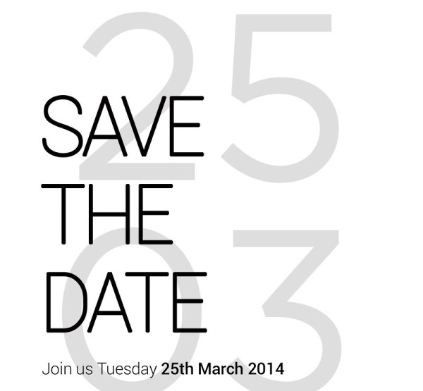 HTC to Announce something big on March 25, possibly the HTC M8?