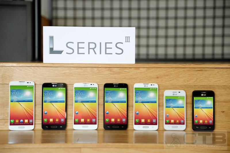 LG Announces the L Series III; 3 new Low-end to Mid-range Smartphones running Android KitKat 4.4