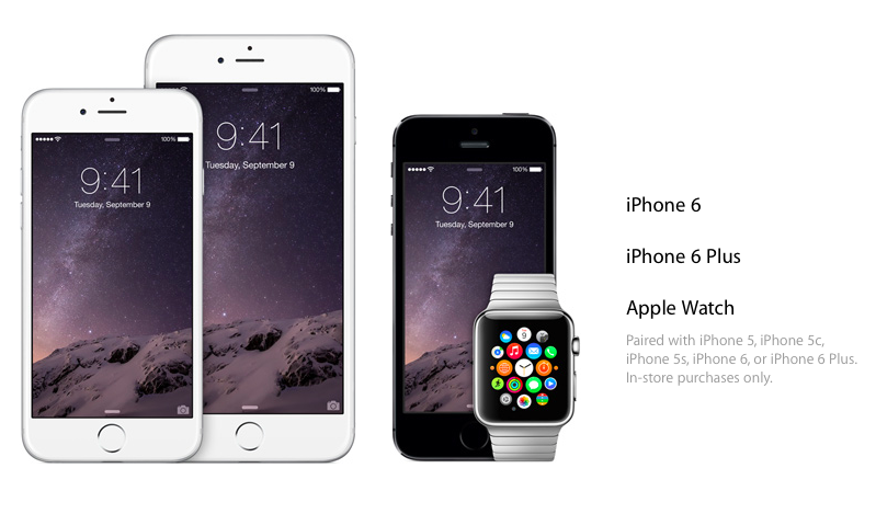 iPhone 6, iPhone 6 Plus, Apple Watch and Apple Pay – Catch the Highlights of Apple's Newest Products!