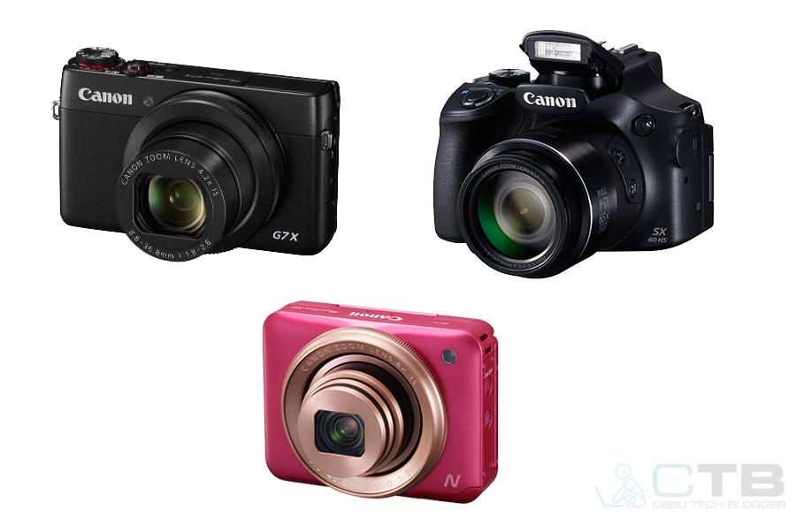 Canon Philippines Officially Unveils the PowerShot N2, G7 X and the SX60 HS