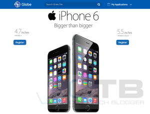Globe's iPhone 6, iPhone 6 Plus Pre-Order Page Goes LIVE!